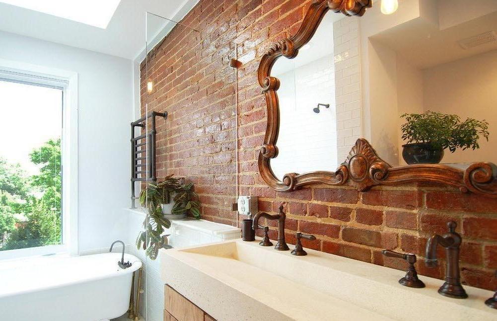 фото дизайнерские зеркала для ванной