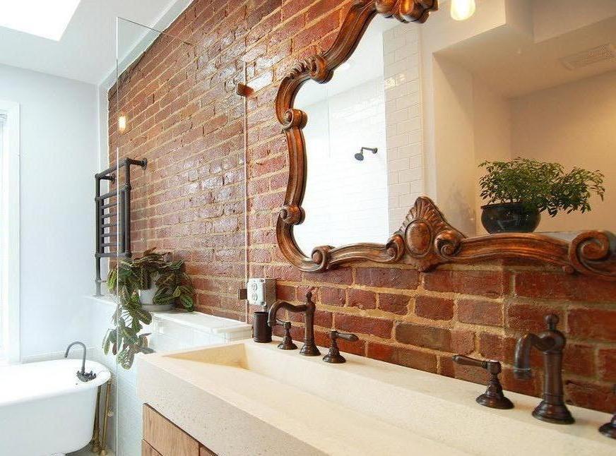 1фото дизайнерские зеркала для ванной